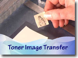 Image Transfer Onto Polymer Clay