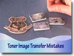 Photo Transfer Onto Polymer Clay