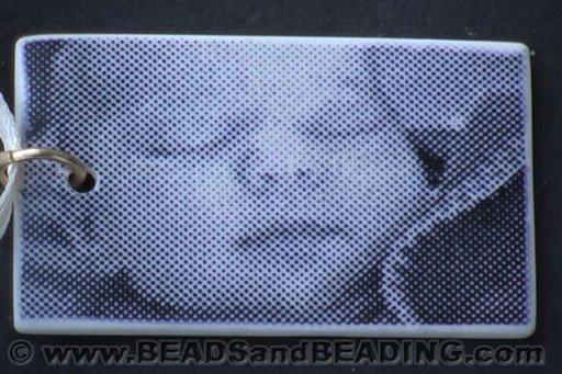 Baby Face Photo Transfer Bead