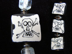 Pirate Corssbones Beads