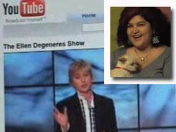 The Great Glitter Debate - Crafty Chica vs Ellen Degeneres