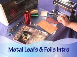Metal Leaf vs Metal Foil Introduction