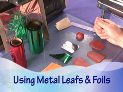 Using Metal Leafs and Foils
