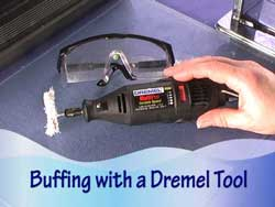 Buffing Polymer Clay With a Dremel Tool
