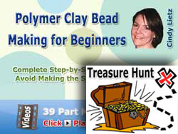 Beginner Bead Making Course - Treasure Hunt Prize