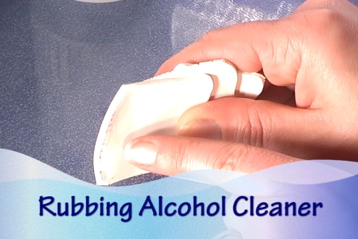 Using Rubbing Alcohol to Clean White Fimo Clay