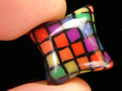 Rainbow Pillow Bead