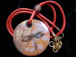 Dragon Fly Pendant Jewelry
