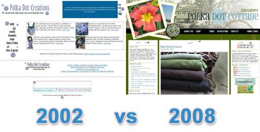 PolkaDotCreations 2002 vs PolkaDotCottage 2008