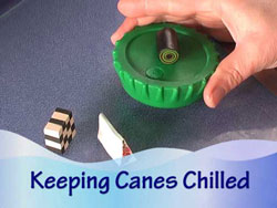 Chilling Polymer Clay Canes