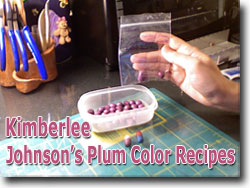 Kimberlee Johnson's Plum Color Recipes