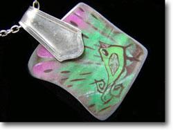 Bird Jewelry Pendant