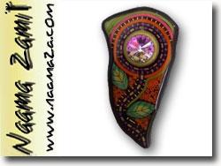 Naama Zamir Bead Mosaic Brooch