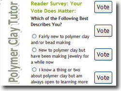 Polymer Clay Reader Survey