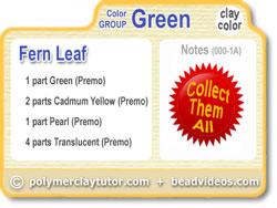Polymer Clay Tutor Recipe Card