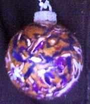 Anna Sabina Mokume Gane Christmas Ornament