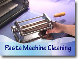 Cleaning A Pasta Machine
