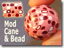 Mod Cane And Bead