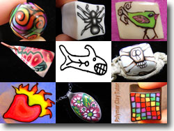 Polymer Clay Canes From 2008