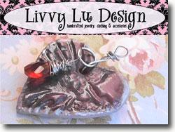 Livvy Lu Design Valentine Bead