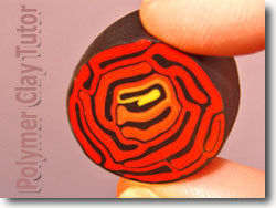 True Red Polymer Clay Color Recipe