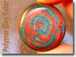 Swirl Disc Bead