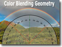 Rainbow Color Blending Geometry