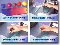 Polymer Clay Color Blending Videos