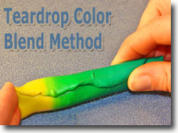 Teardrop Color Blend Method