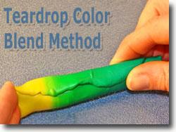 Teardrop Color Blend Method