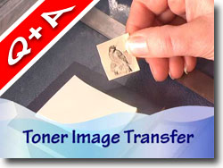 Photo Image Transfer On Polymer Clay Canes Into Thirds