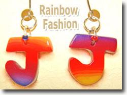 Polymer Clay Rainbow Jewelry
