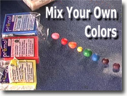 Mix Your Own Polymer Clay Colors