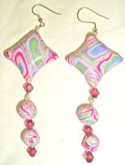 Extruder Cane Pillow Beads - Elizabeth Kerr
