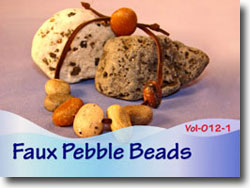 Faux Pebble Beads