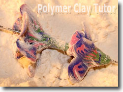 Baking Polymer Clay Beads In Cornstarch