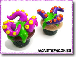 Monster Kookies Cupcake Charms