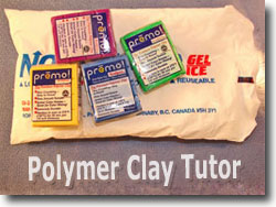Polymer Clay On Ice Packs