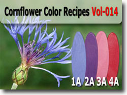 Cornflower Polymer Clay Color Palette