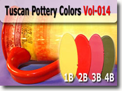 Tuscan Pottery Polymer Clay Color Palette