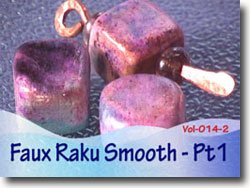 Faux Raku Smooth Technique