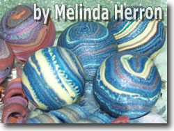 Jupiter Beads by Melinda Herron