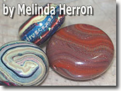 Disc Beads by Melinda Herron