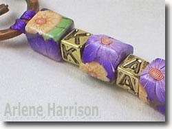Hammered Copper Hookmark by Arlene Harrison
