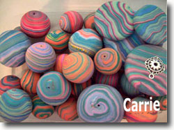 Jupiter Beads by Carrie