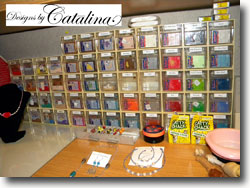 Catalina's Polymer Clay Studio Storage