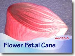 Polymer Clay Flower Petal Cane