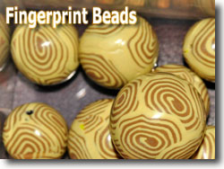 Fingerprint Beads by Rob Kerfoot