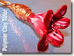 Wire Wrapped Flower Bead