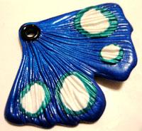 Butterfly Earring by Phoenix Forbes